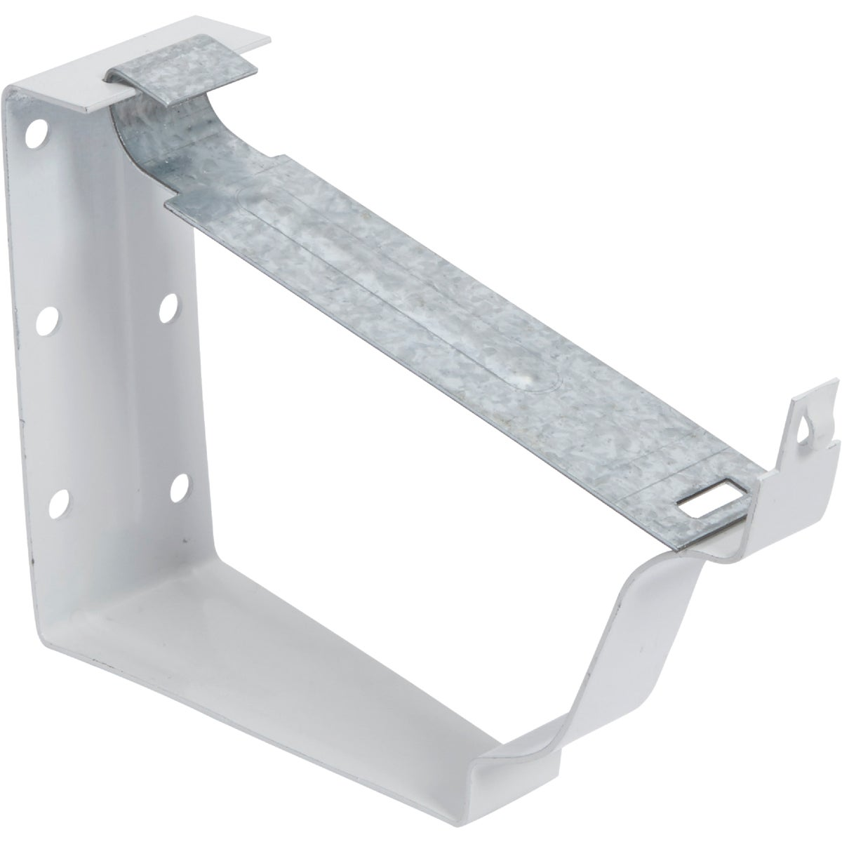 WHT SNAP LOK BRACKET - 33022 by Amerimax Home Prod