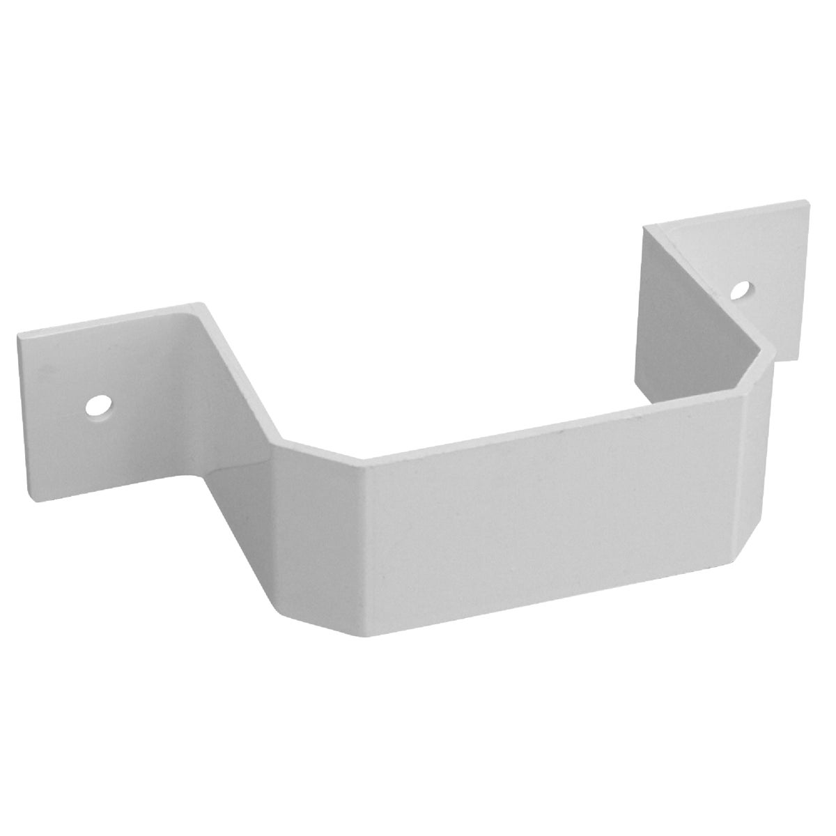 2X3WHT DOWNSPOUT BRACKET - AW202 by Genova Products