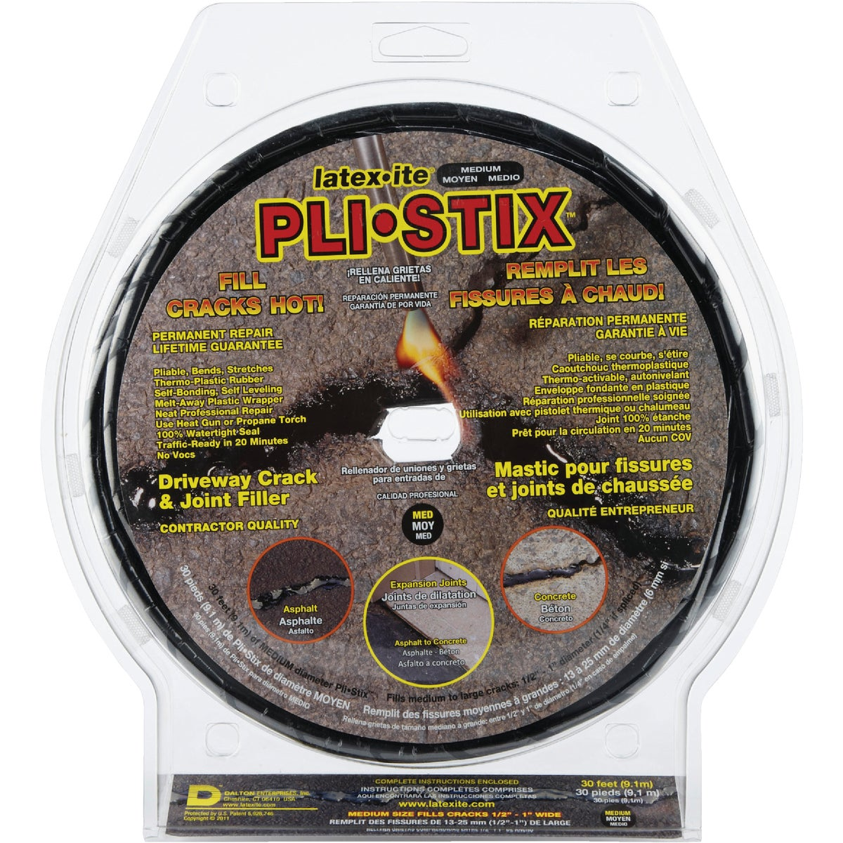 30'PLI-STIX CRACK FILLER - 35099 by Dalton Enterprises