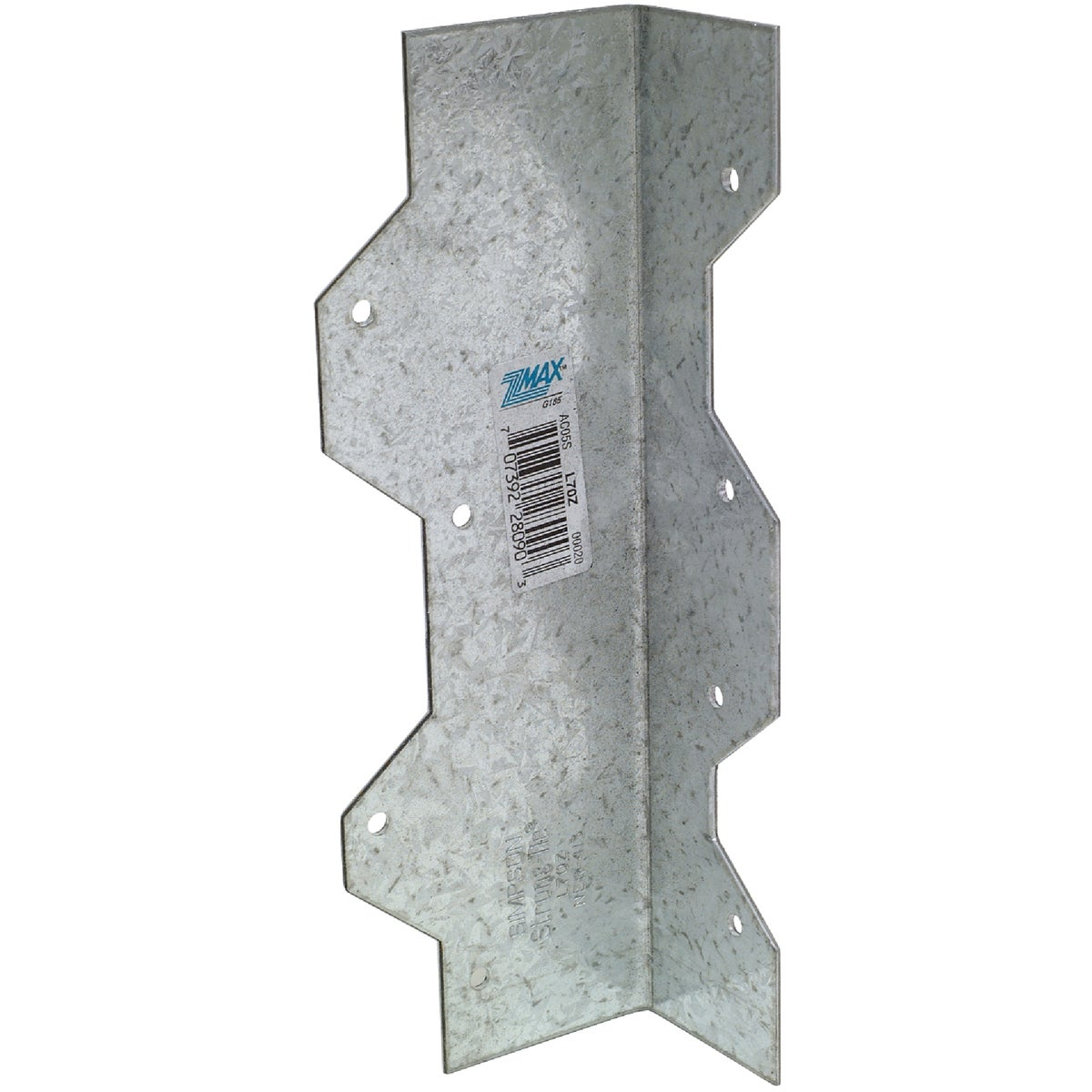 "7"" REINFORCING L-ANGLE Z - L70Z by Simpson Strong Tie"