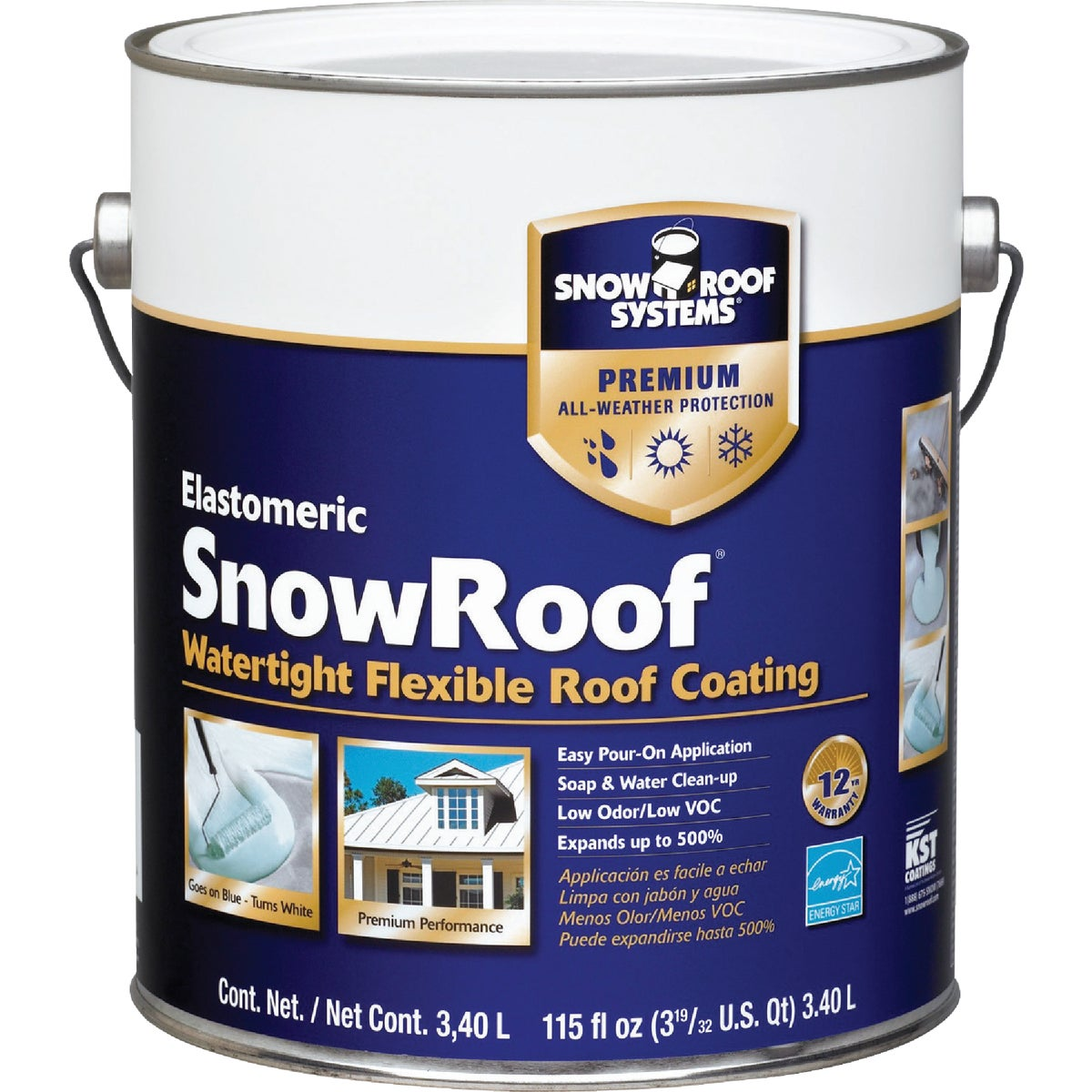 GAL SNOW ROOF COATING - KST000SRB-16 by Snow Roof