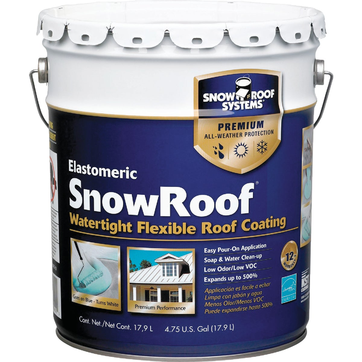 5GAL SNOW ROOF COATING - KST000SRB-20 by Snow Roof