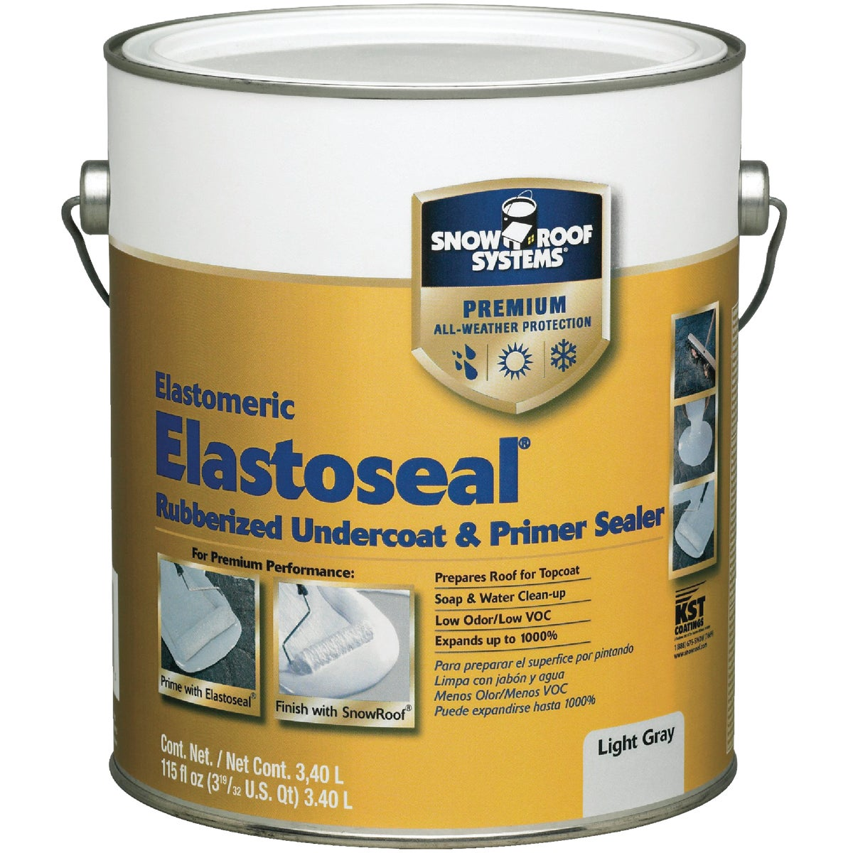 GAL ELAST SEAL UNDERCOAT - ES-1 by Snow Roof