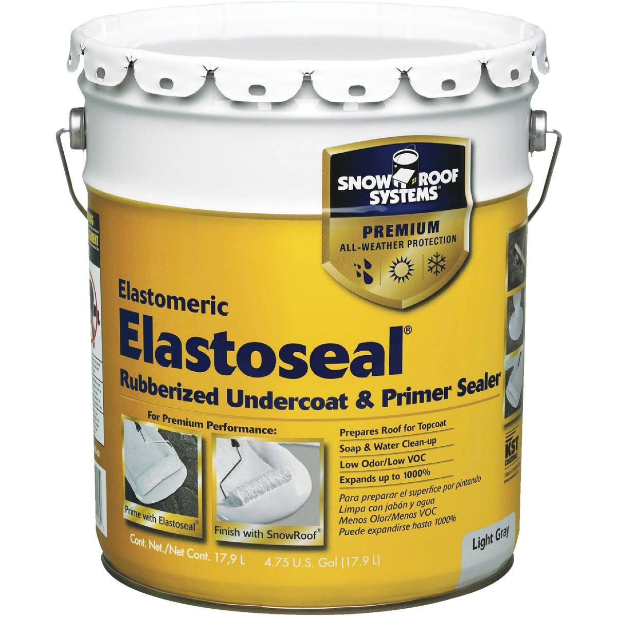 5GAL ELAST SEAL UNDRCOAT - ES-5 by Snow Roof