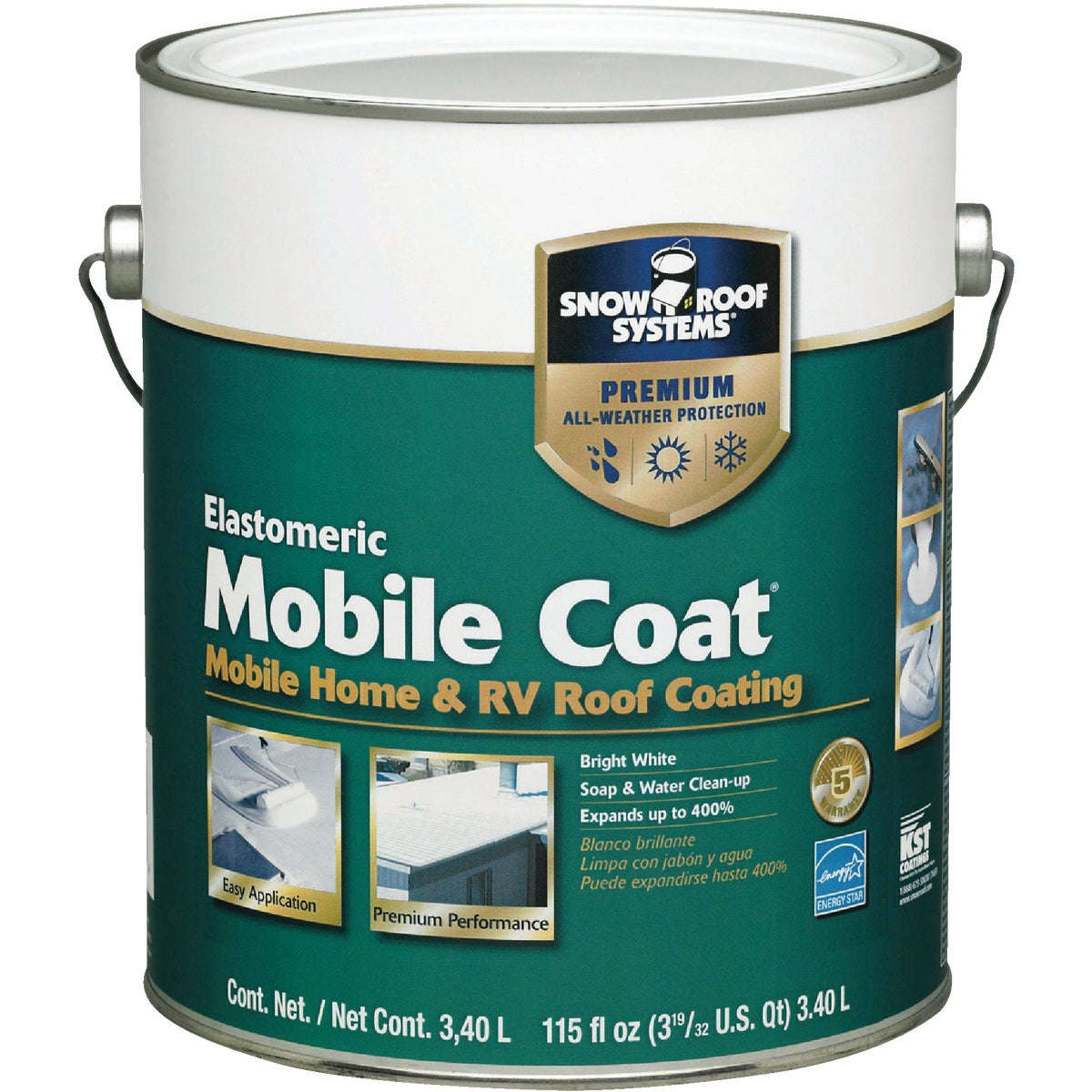 GAL MOBILE ROOF COATING - MC-1 by Snow Roof