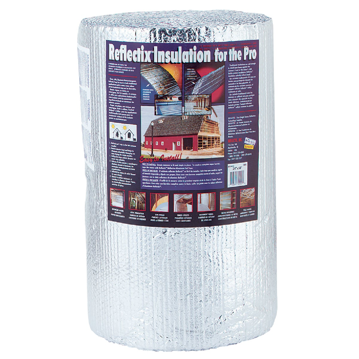 "24""X50' RFLC INSULATION - BP24050 by Reflectix Inc"