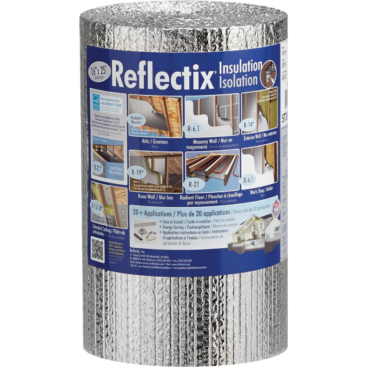 "16""X25' RFLC INSULATION - ST16025 by Reflectix Inc"