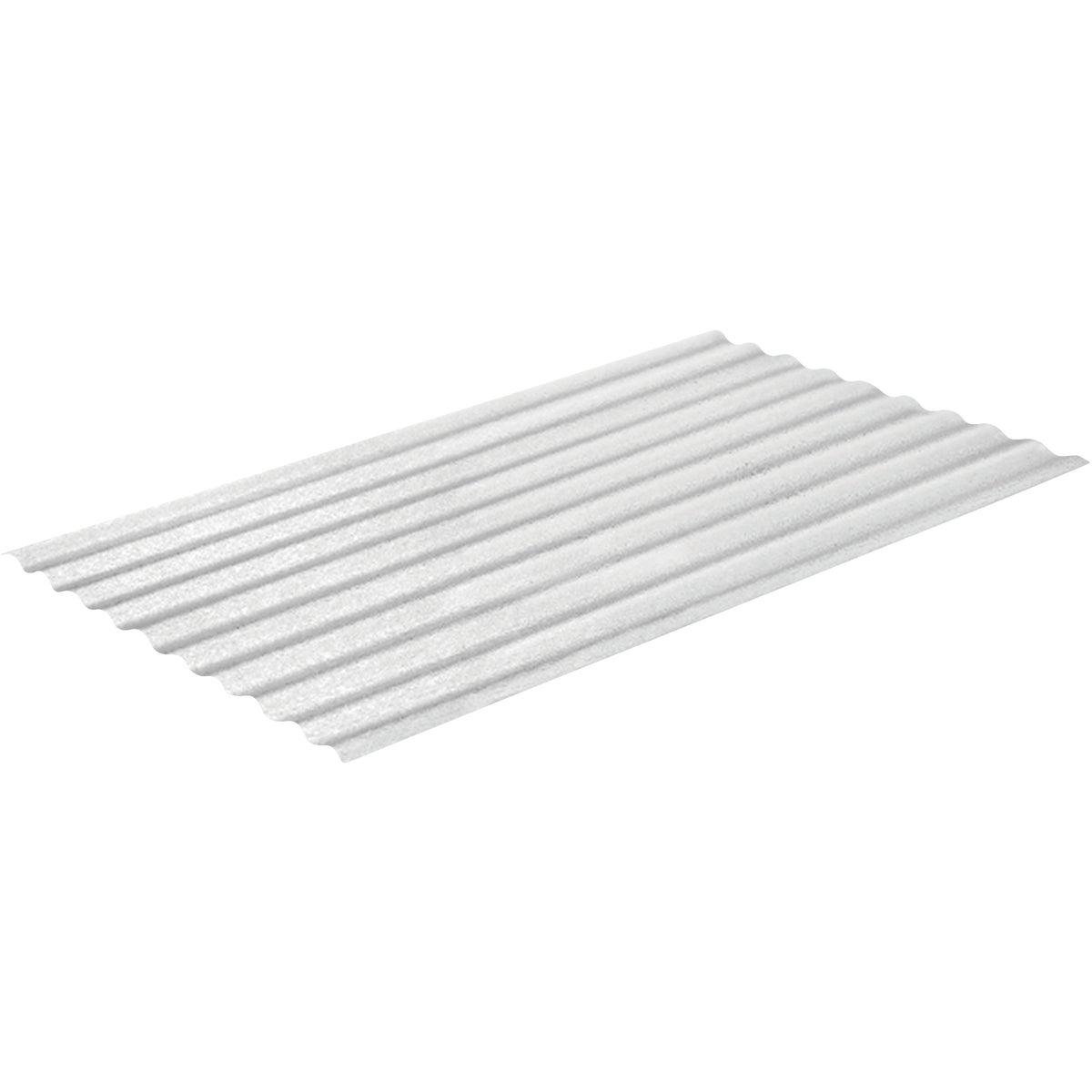 Weatherglaze 1-Side Textured Fiberglass Panel