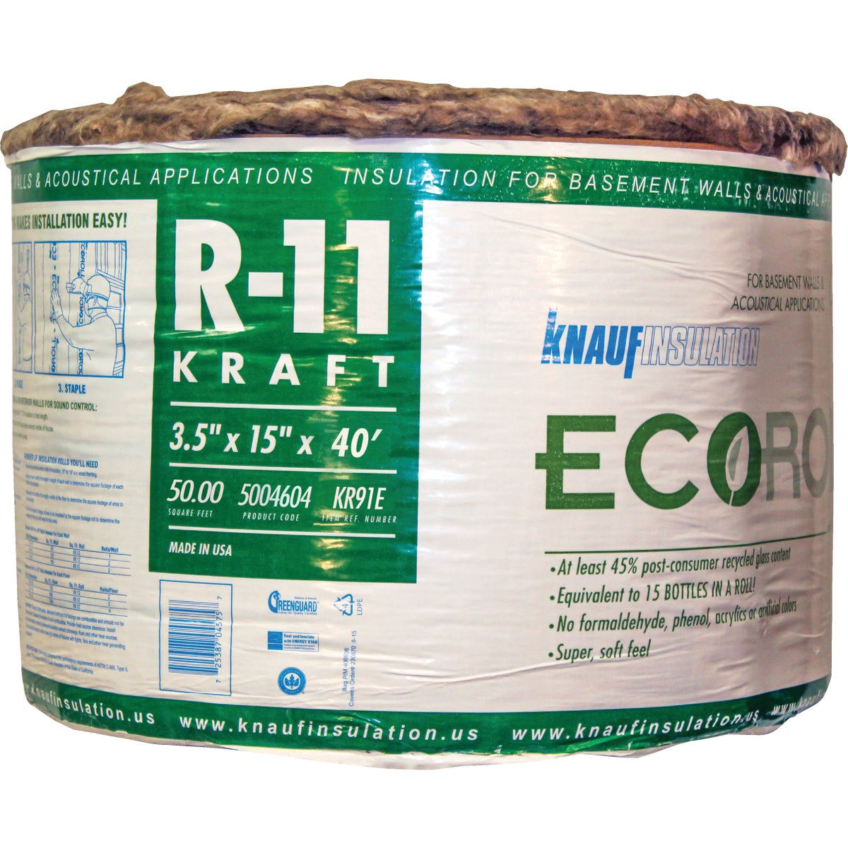 R11 15X40 KRA INSULATION - GT400 by Guardian Bldg Prods