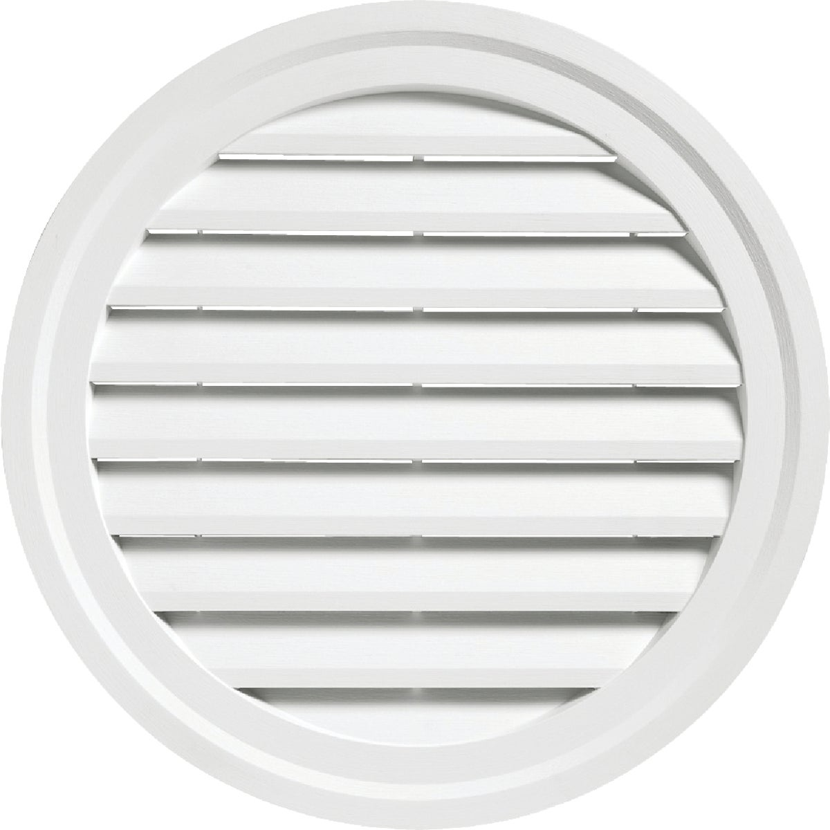 "18"" WHITE RND GABLE VENT - RDGV18 PW by Alcoa Home Exteriors"