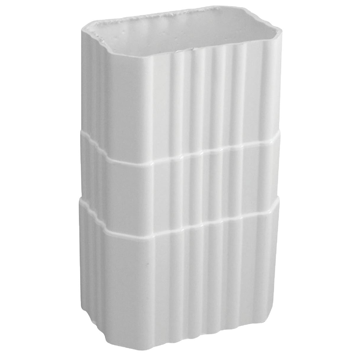 2X3WHT DOWNSPOUT COUPLER - AW203 by Genova Products