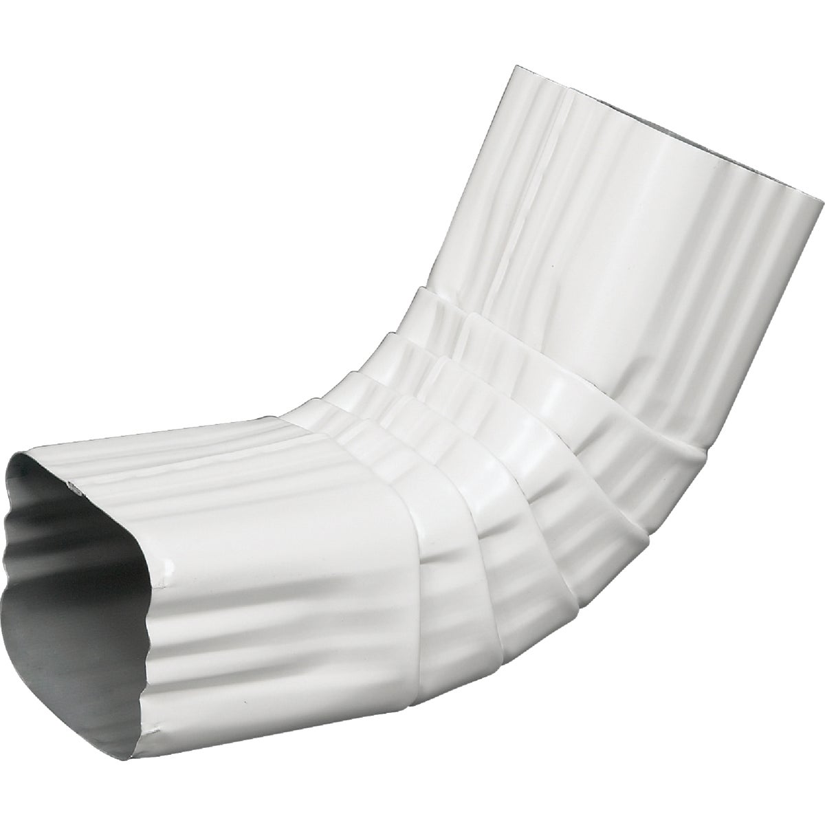 2X3 WHT A-ELBOW - 33064 by Amerimax Home Prod