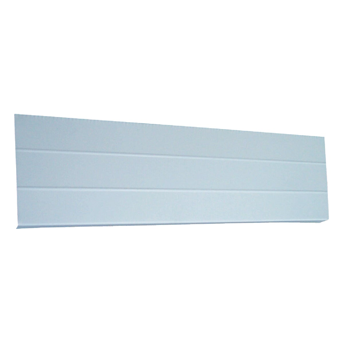 "6"" WHT SM RB ALUM FASCIA - 48490-AJ22 by Klauer Mfg Co"