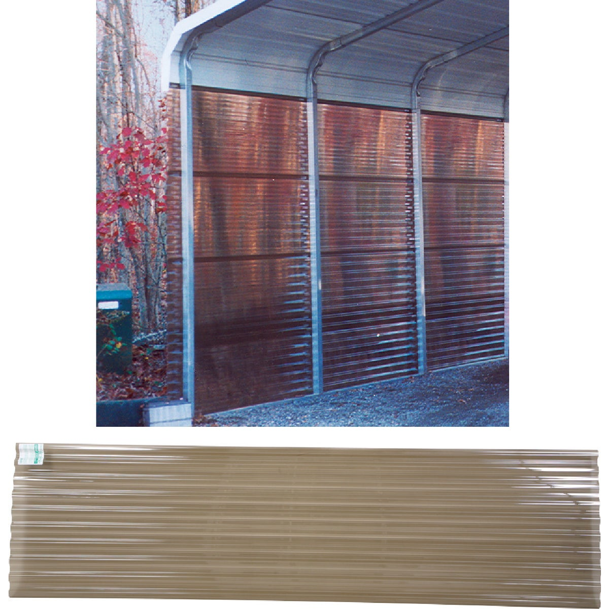 8' SMK CORRUGATED PANEL - 141912 by Ofic North America