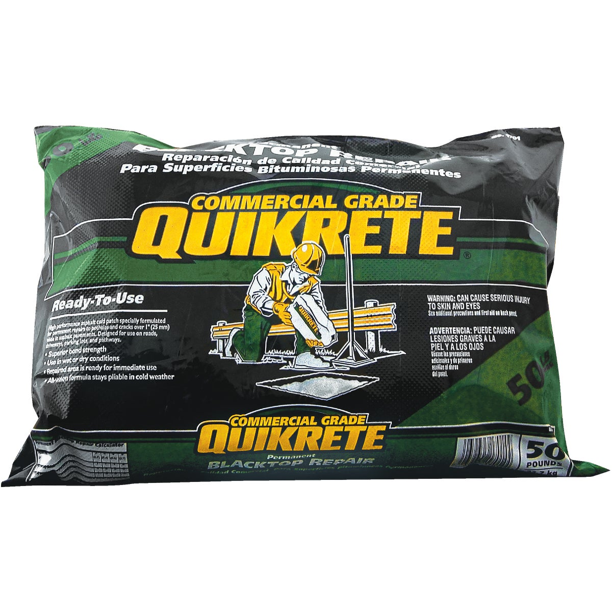 Quikrete 50LB BLACKTOP PATCH 1701-52