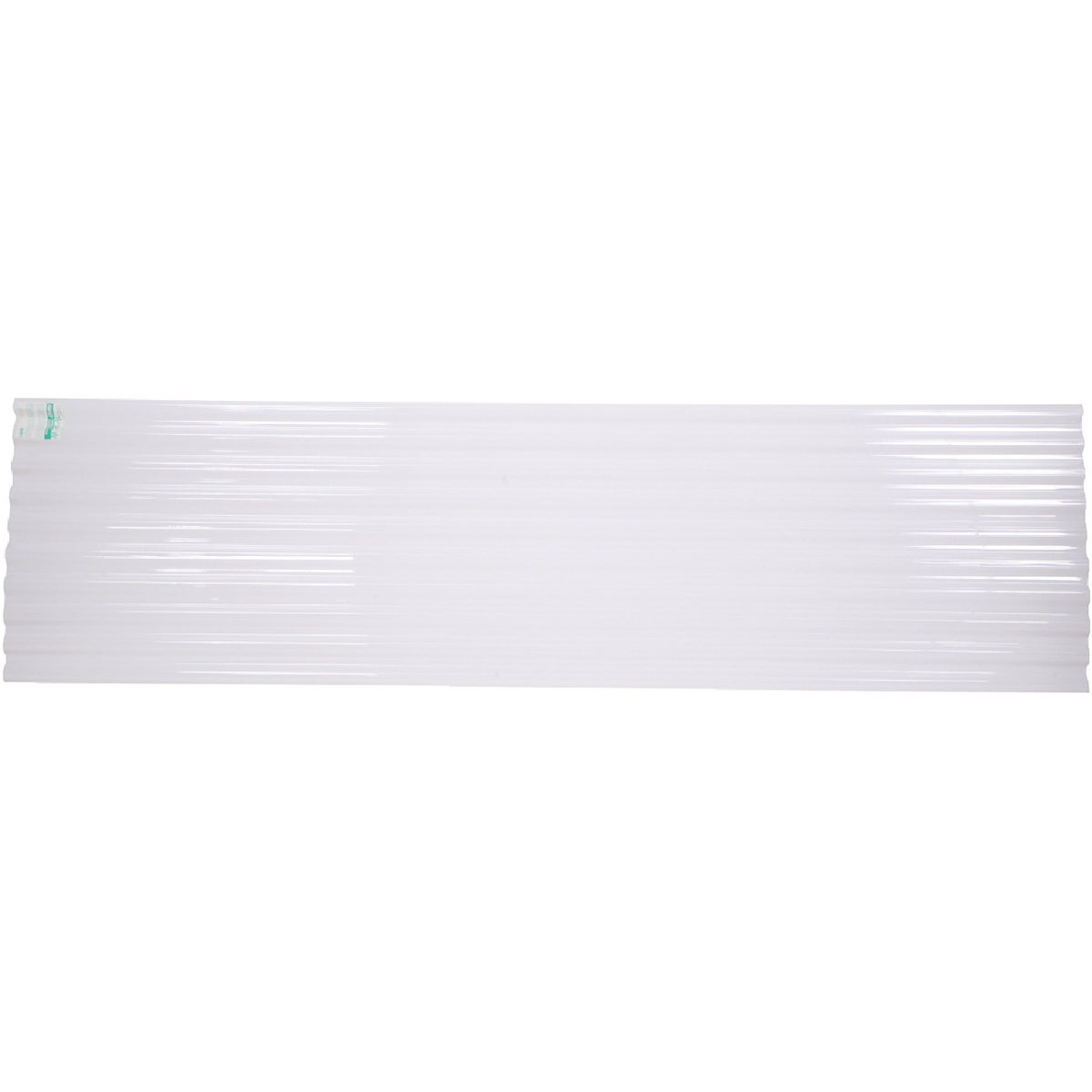 12' WHT CORRUGATED PANEL