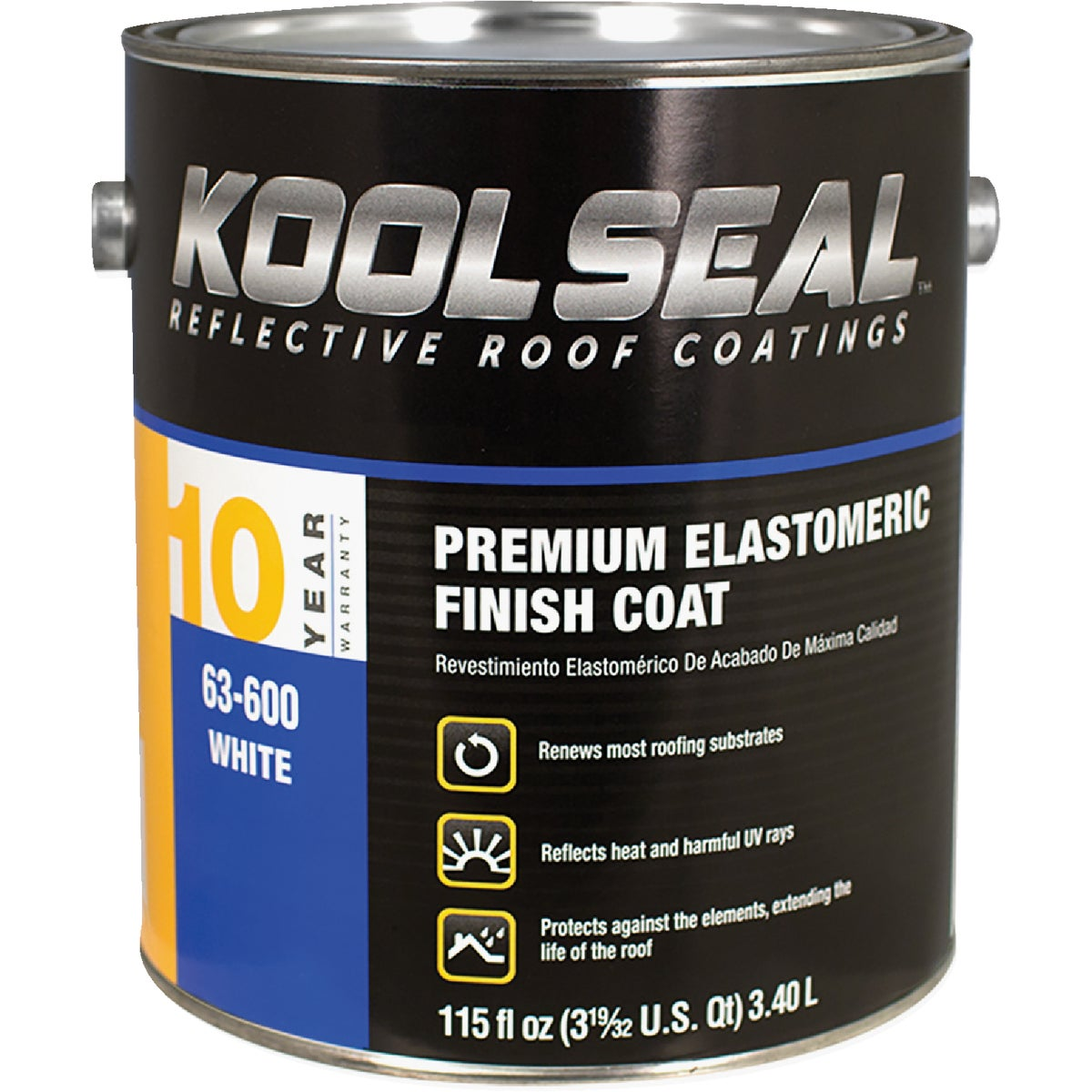 GAL ELSTOMRC RF COATING - 63-600-1 by Kool Seal