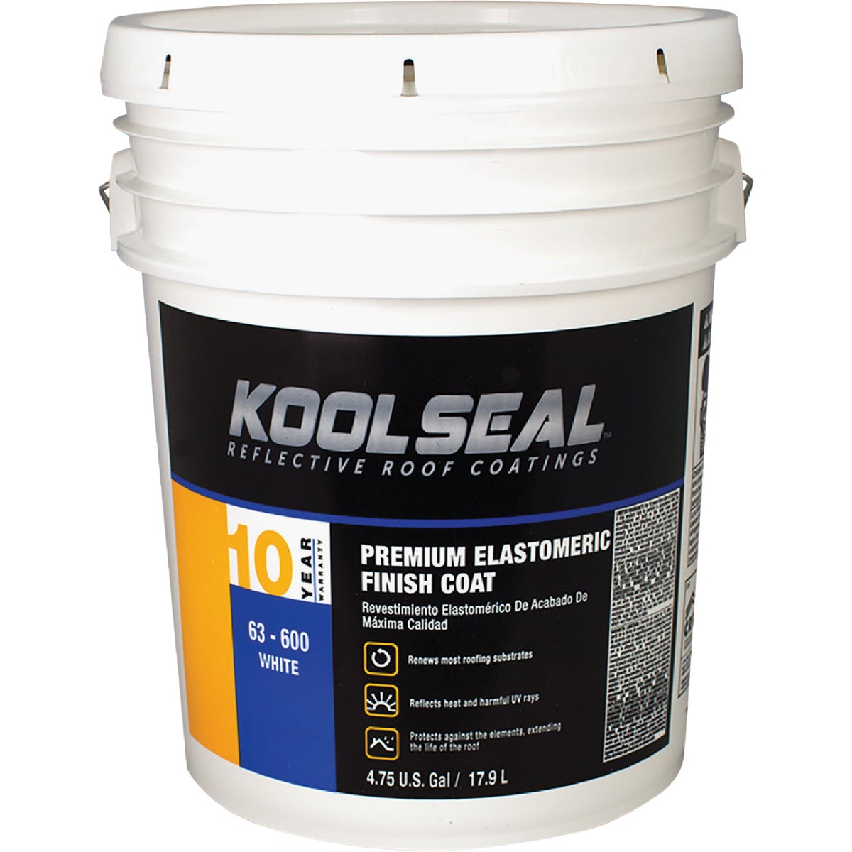 5GAL ELASTMRC RF COATING - 63-600-5 by Kool Seal