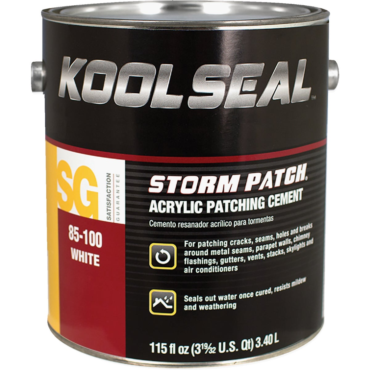 GAL WHT RF PATCH CEMENT - 61-220-1 by Kool Seal