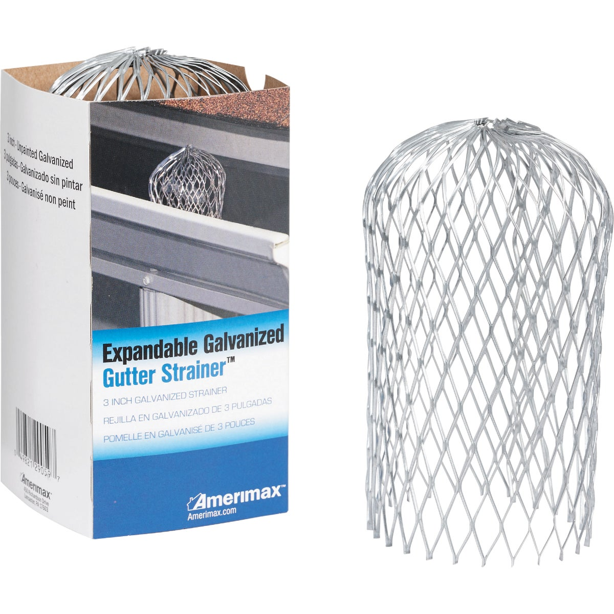 GALV EXPAND STRAINER - 29059 by Amerimax Home Prod
