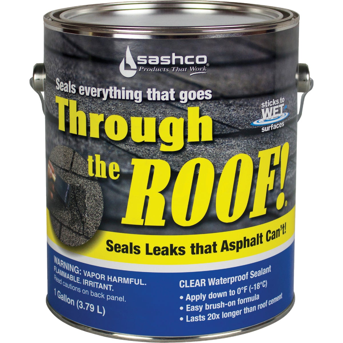 GAL CLEAR ROOF SEALANT - 14004 by Sashco Sealants Inc