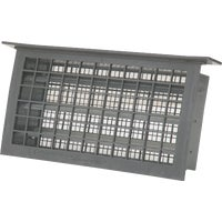 Witten Automatic Vnt. GRAY AUTO FOUNDATON VENT 304LGR