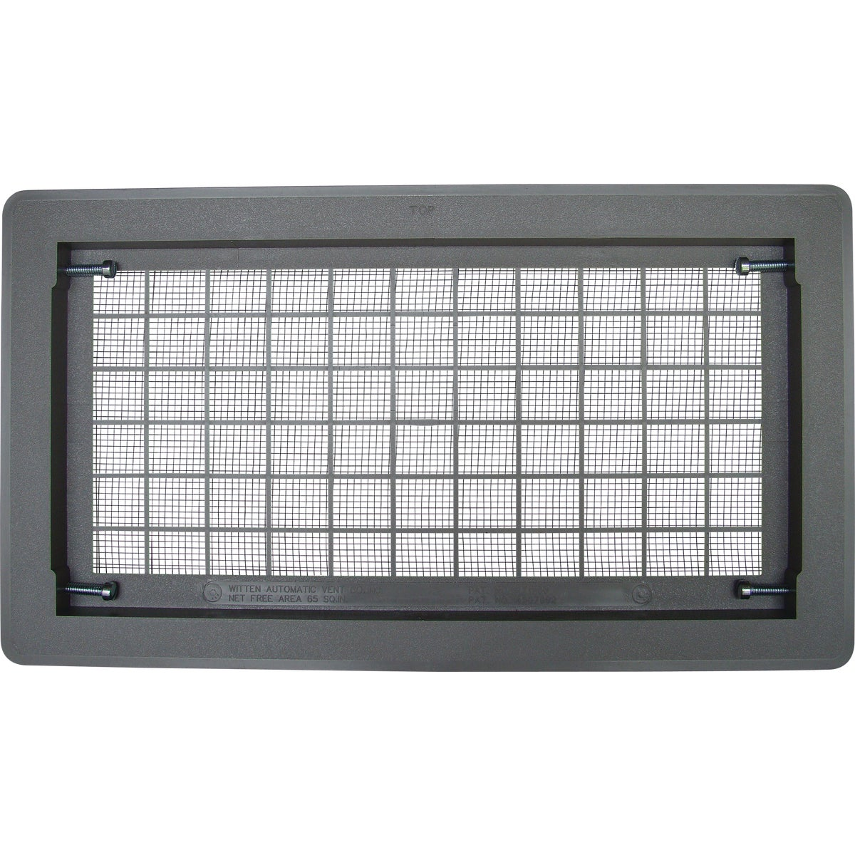 GRAY AUTO FOUNDATON VENT - 306MGR by Witten Automatic Vnt