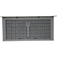 Witten Automatic Vnt. FOUNDATION VENT W/DAMPER 322GR