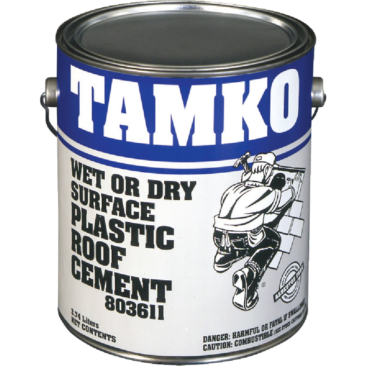 GAL WET SRFC ROOF CEMENT - 30001619 by Tamko Bldg Prod Inc