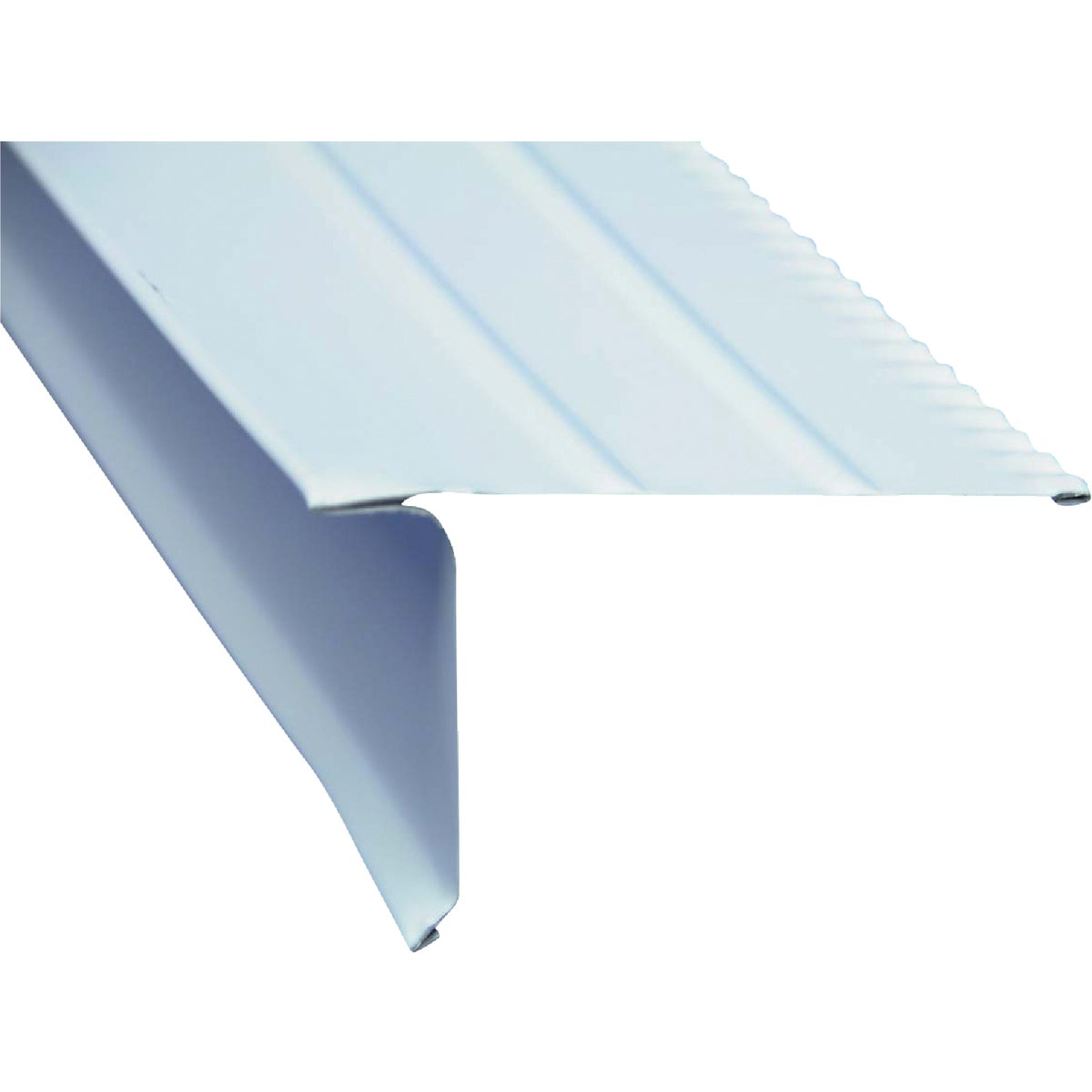 WHITE ALM ROOF DRIP EDGE - 5504100120 by Amerimax Home Prod