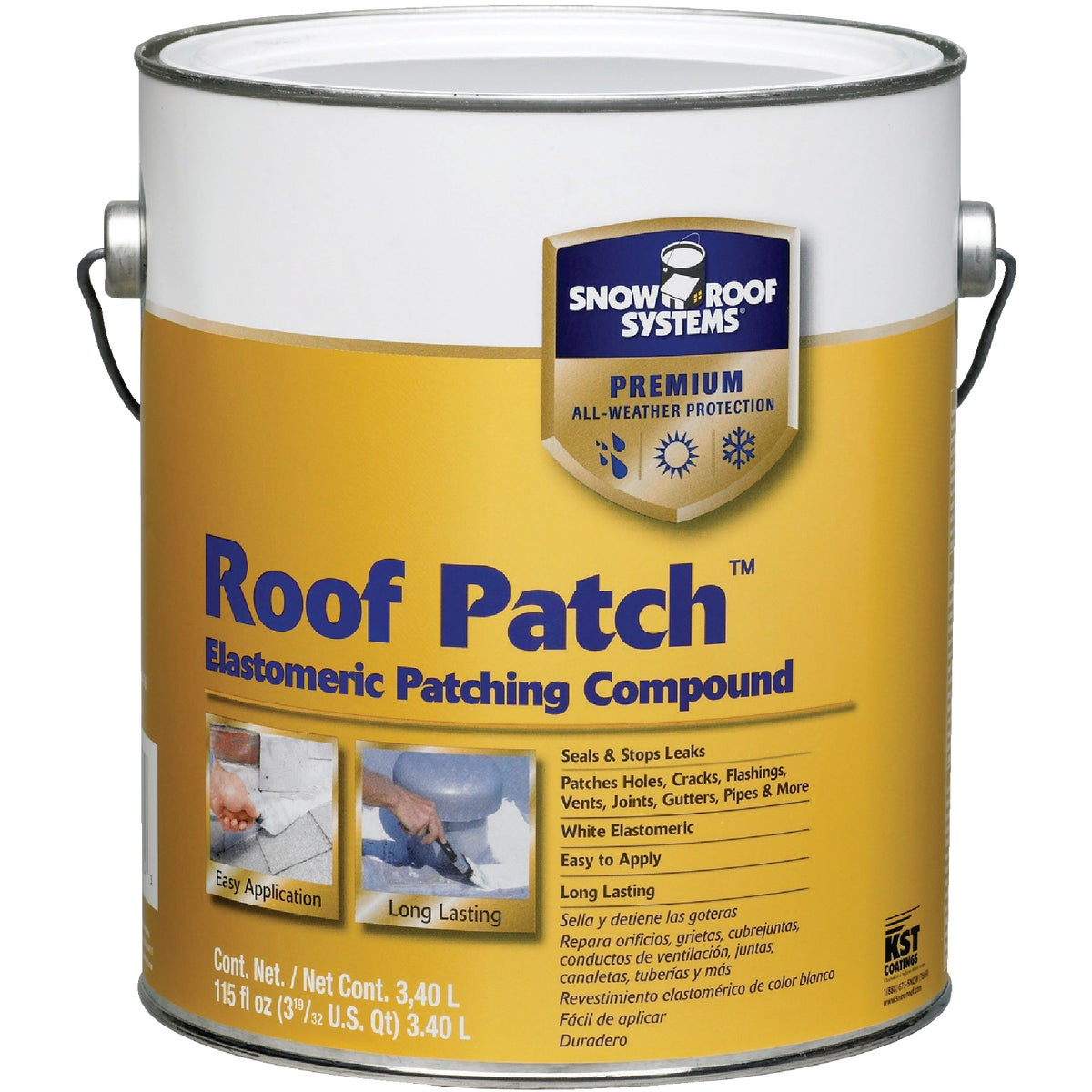 GAL ROOF PATCH - RPTW-1 by Snow Roof