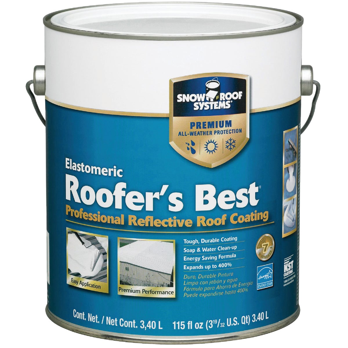 GAL REFLECT ROOF COATING - RB-1 by Snow Roof