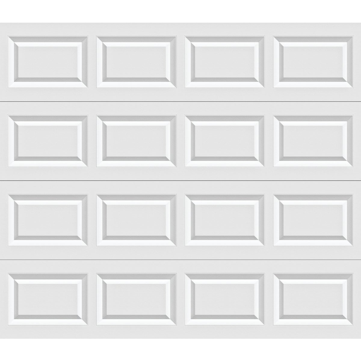8X7 WHT STL GARAGE DOOR