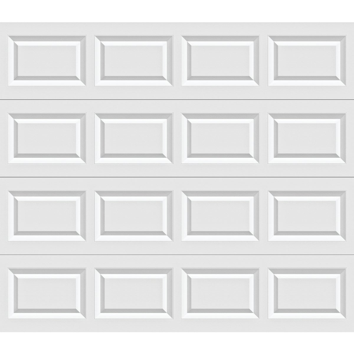 9X7 WHT STL GARAGE DOOR - A632163 by Holmes Garage Doors