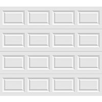 Holmes Garage Doors 9X7 WHT STL GARAGE DOOR A632163