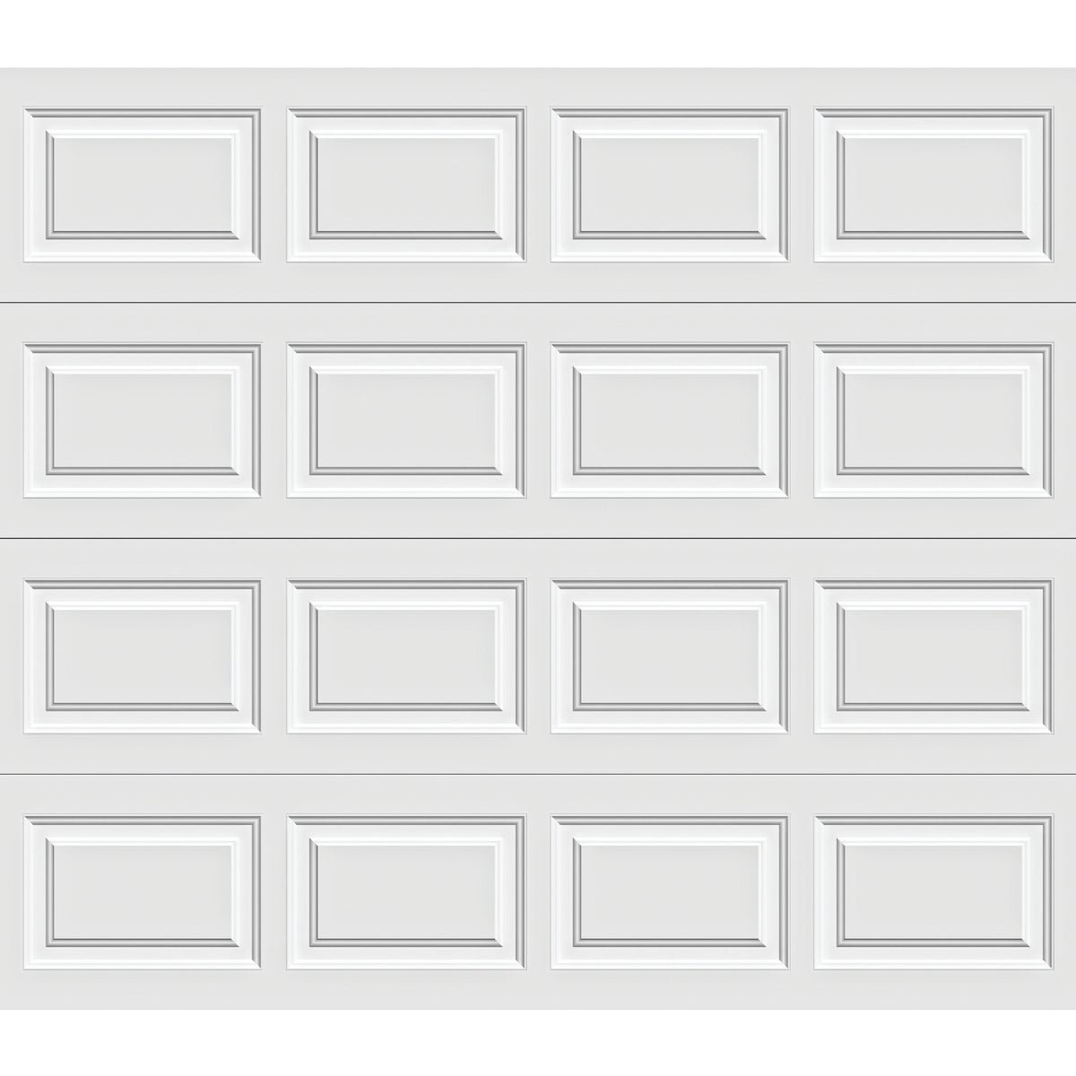 8X7 WHT STL GARAGE DOOR - A632066 6130 by Holmes Garage Doors