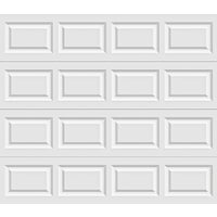 Holmes Garage Doors 8X7 WHT STL GARAGE DOOR A632066 6130