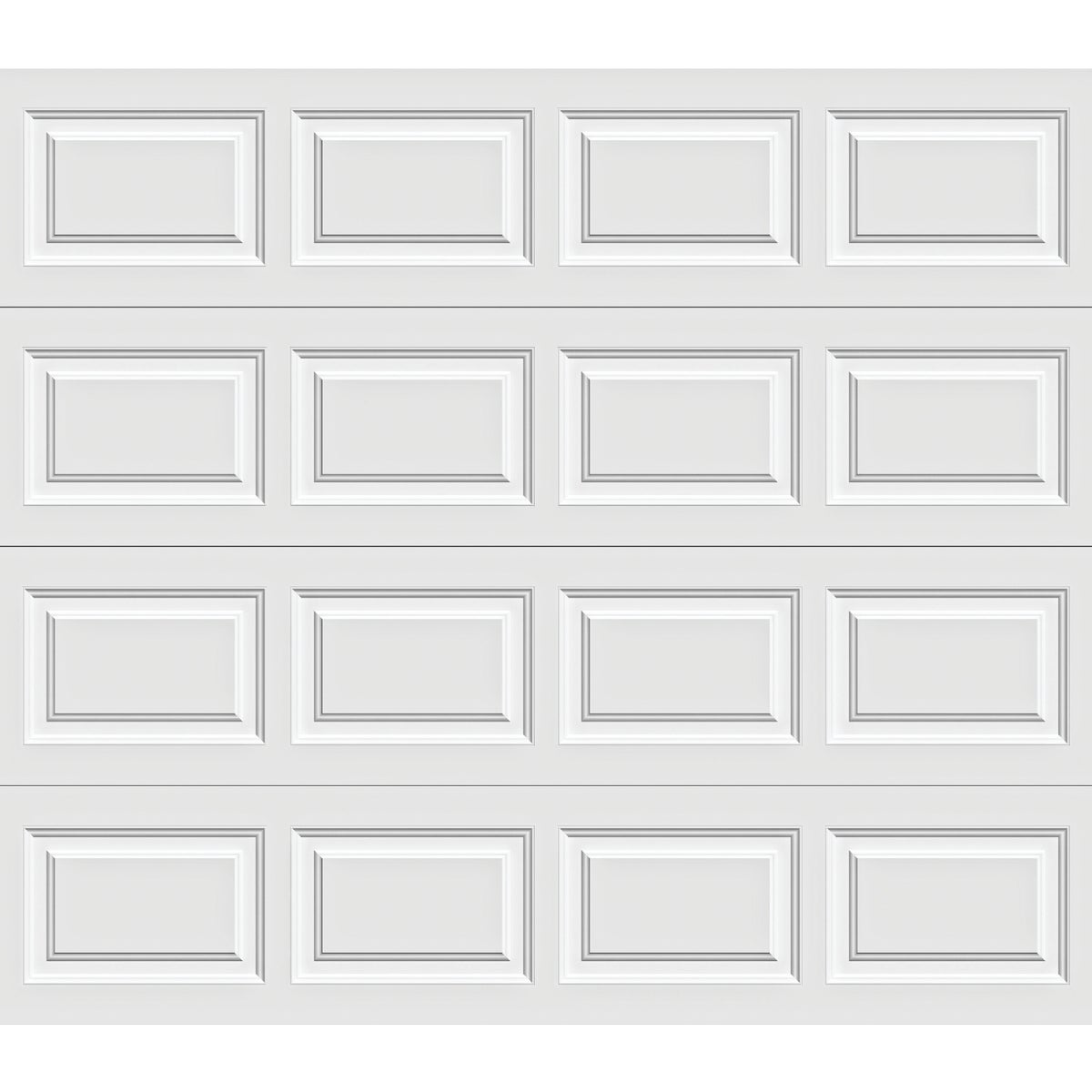 9X7 WHT STL GARAGE DOOR - A632071 6130 by Holmes Garage Doors
