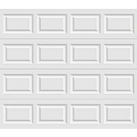 Holmes Garage Doors 9X7 WHT STL GARAGE DOOR A632071 6130