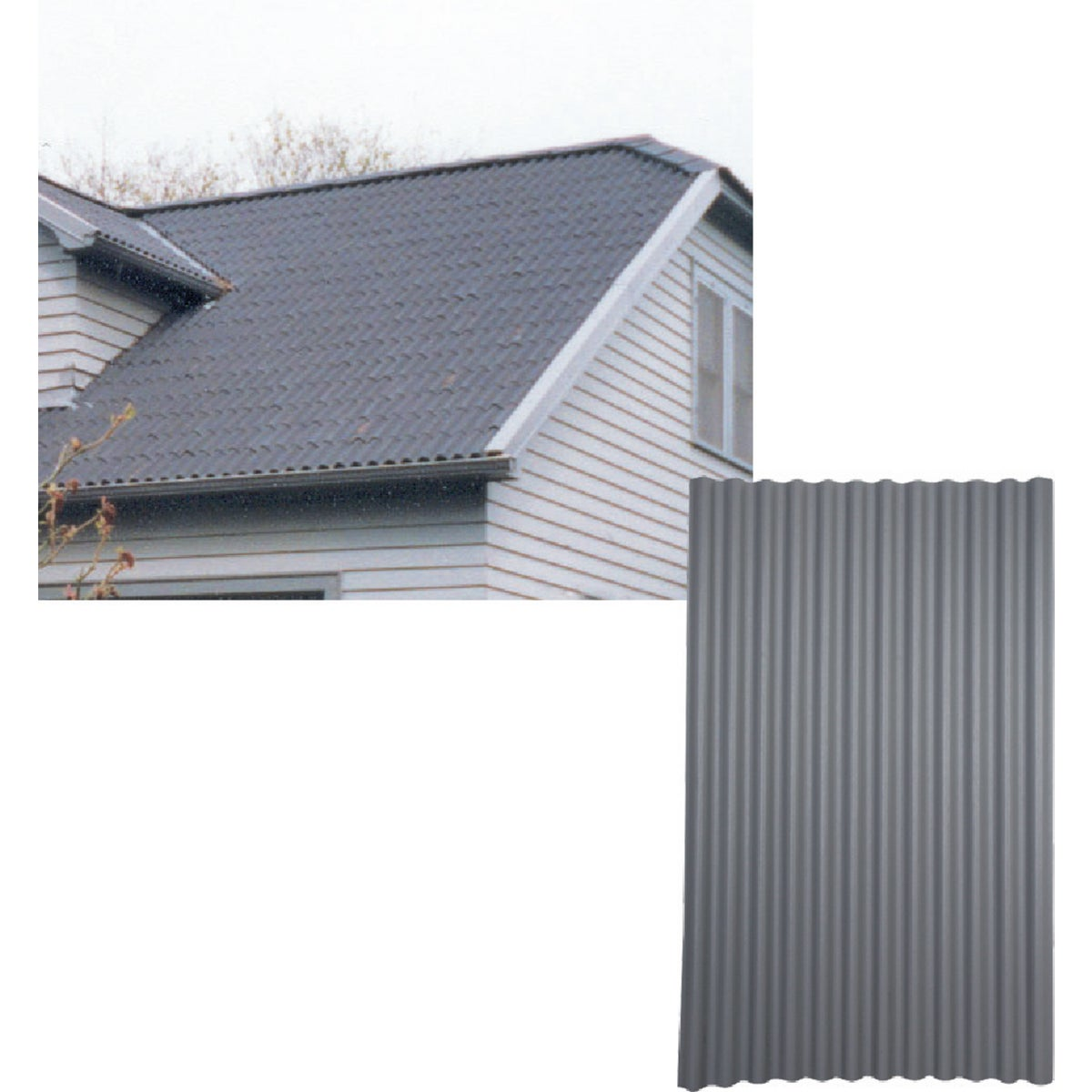 48X79GRAY ONDURA ROOFING - 150 by Ofic North America