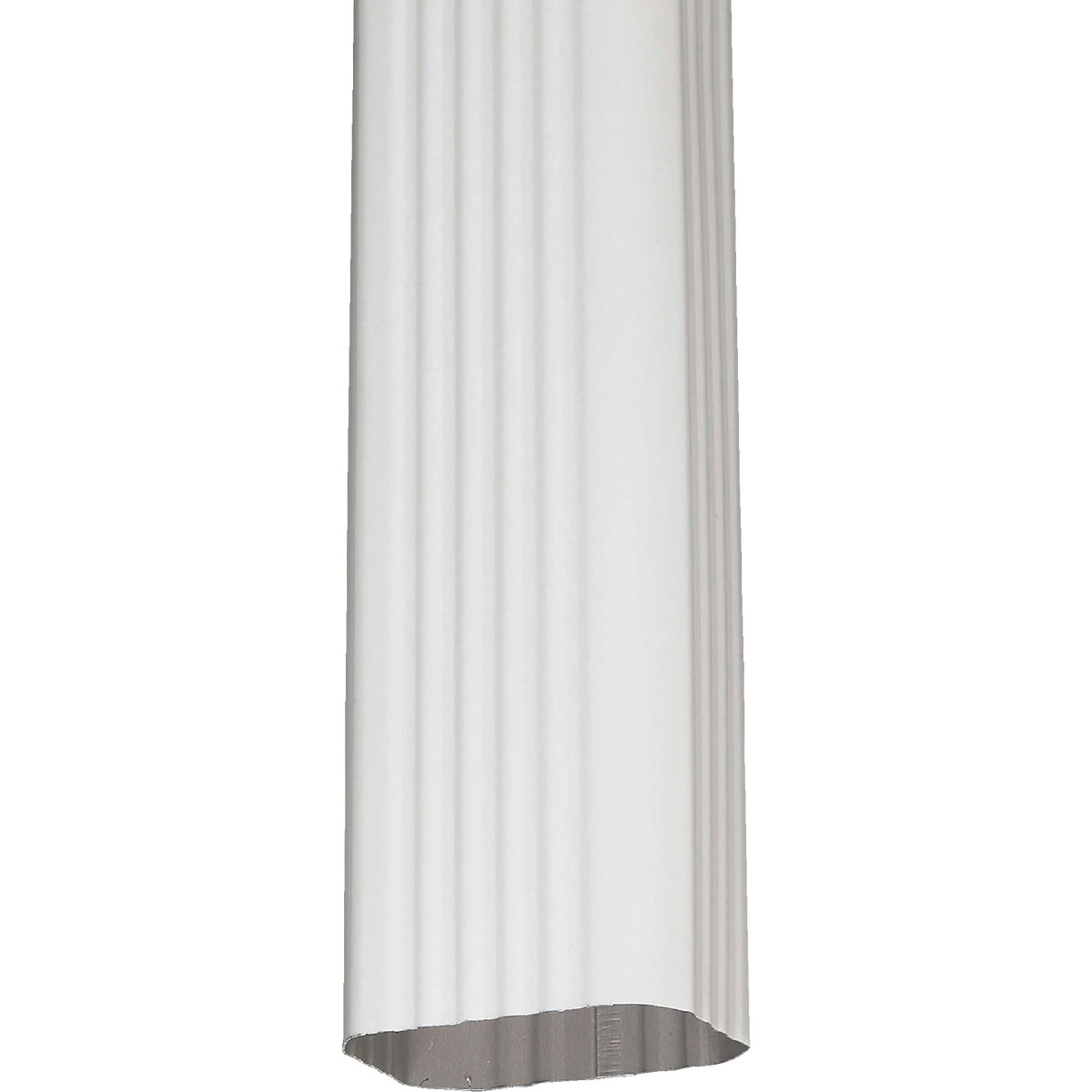3X4 WHITE DOWNSPOUT - 460110120 by Amerimax Home Prod