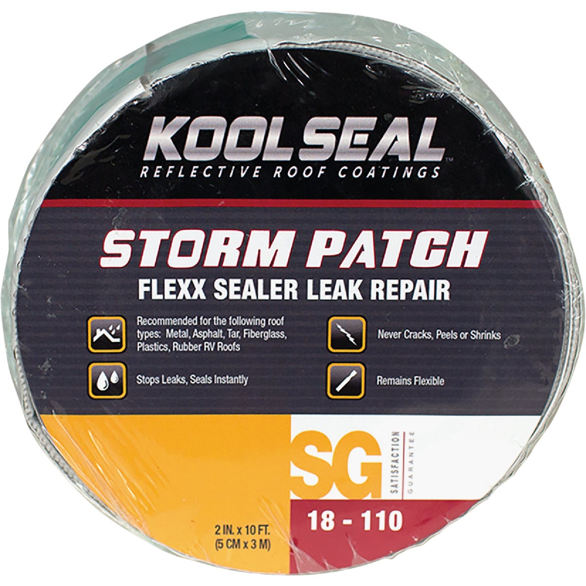 "2""X10' FLEX LEAK SEALER - 18150 by Kool Seal"