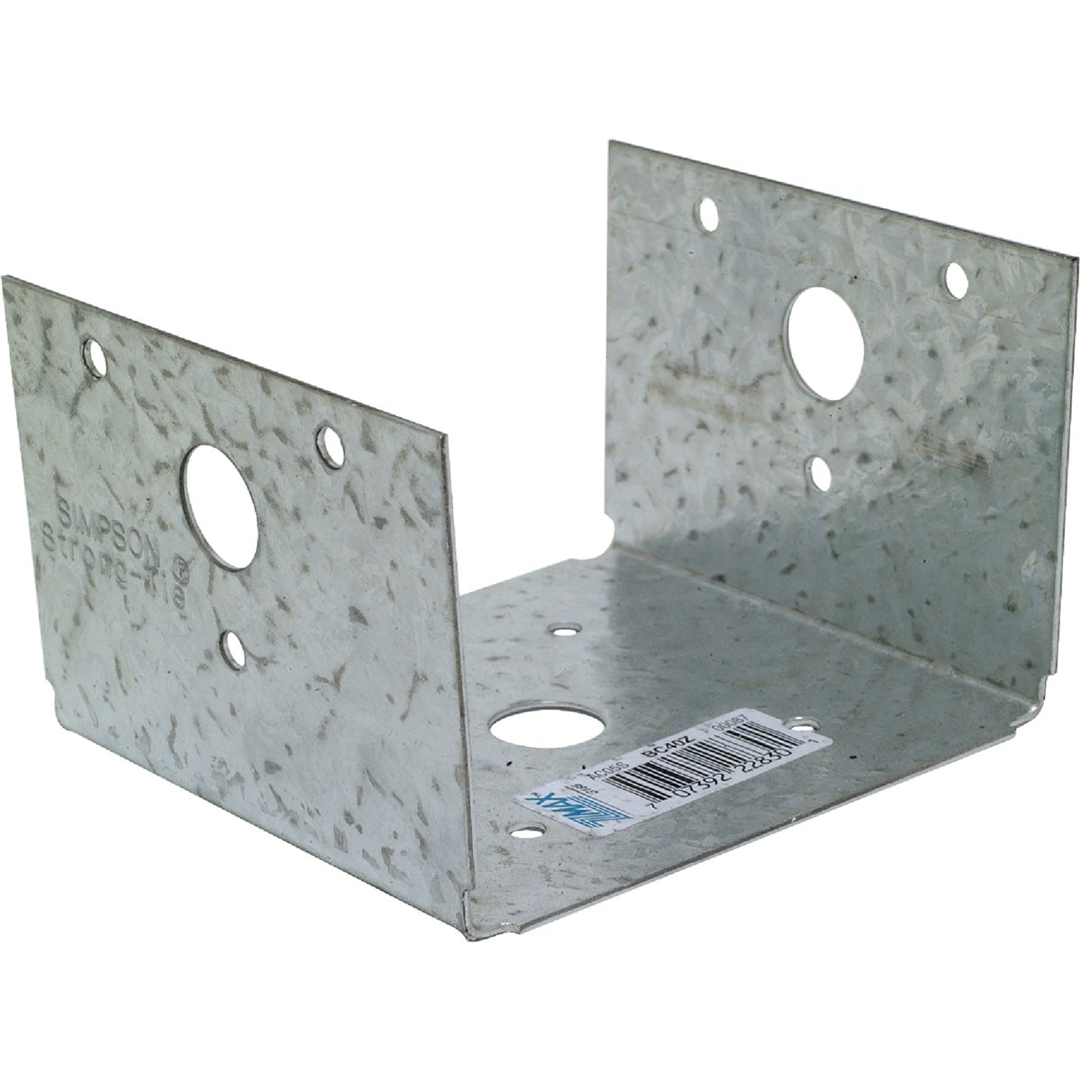 4X4 HALF BASE Z-MAX - BC40Z by Simpson Strong Tie