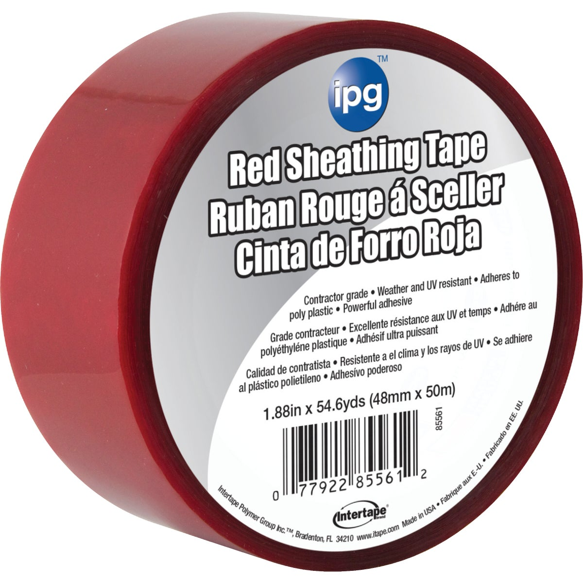 "1.89"" RED SHEATHING TAPE - 5561USR by Intertape Polymer"