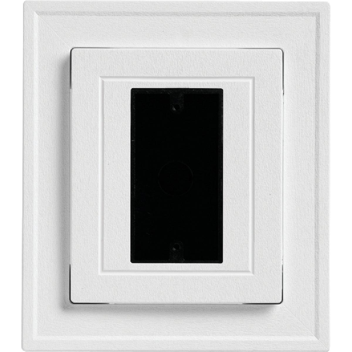 alcoa home exteriors: wht ul electrical block, eblock pw