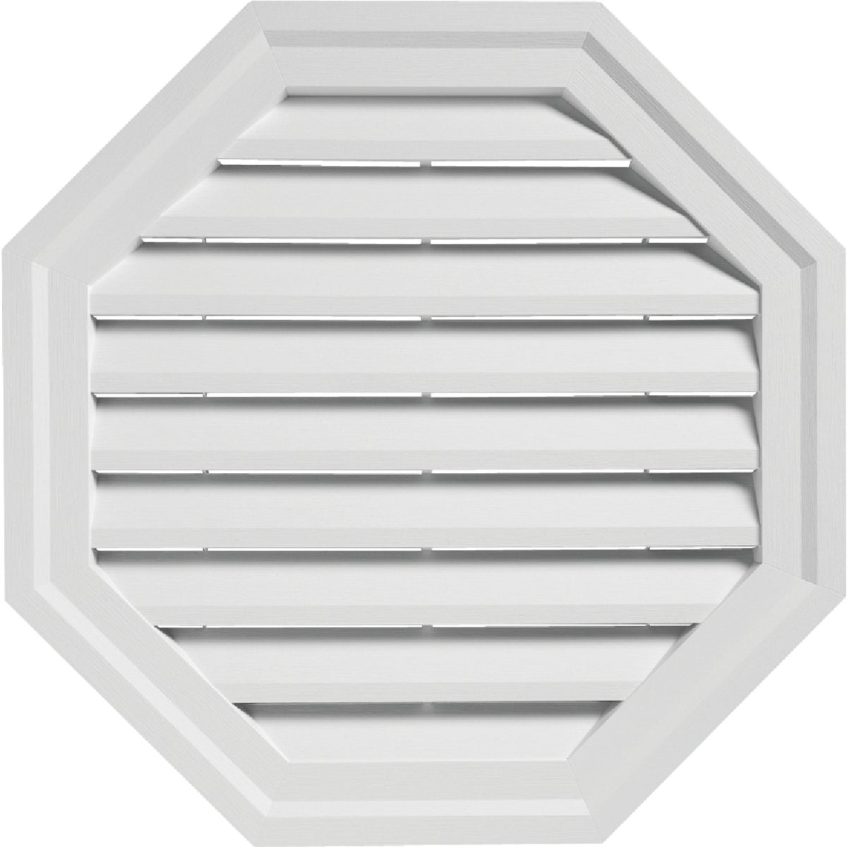 "22"" WHITE OCT GABLE VENT"