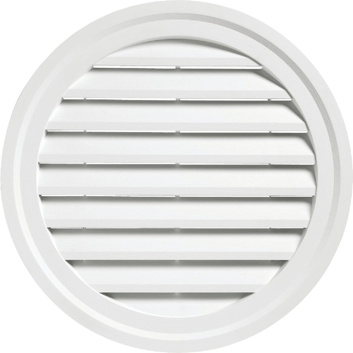 "22"" WHITE RND GABLE VENT - RDGV22 PW by Alcoa Home Exteriors"