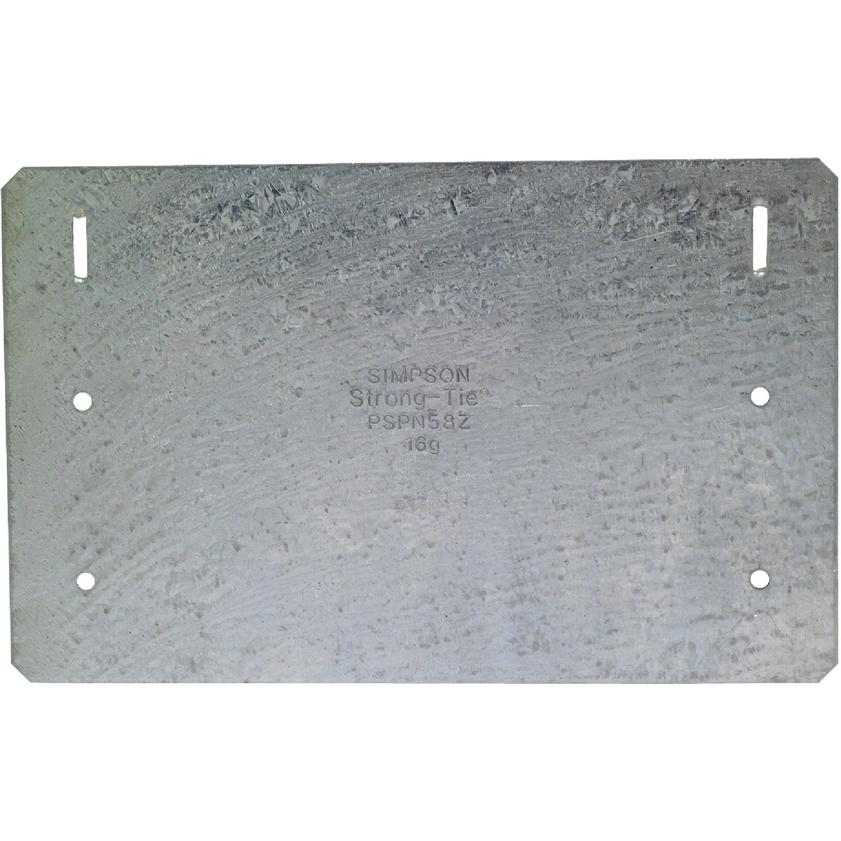 5X8 PROTECTIVE PLATE ZMX - PSPN58Z by Simpson Strong Tie