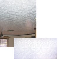 Dimensions Tin Look Nonsuspended Ceiling Tile & Backsplash, 309