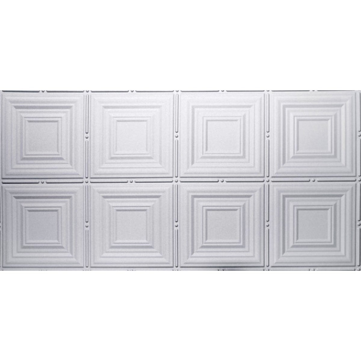 2X4 WHITE TIN-LOOK PANEL - 320 by Global Specialty Pro